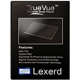 Lexerd - Eagle FishFinder 245 DS TrueVue Crystal Clear Fish Finder Radar Screen Protector