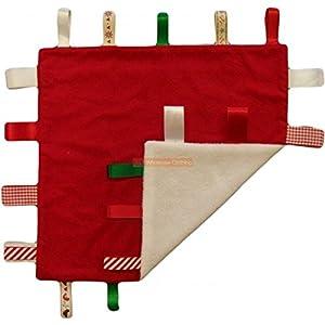 Baby Blank Red Christmas Ribbon Comforter de Dropship