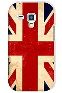 IndiaRangDe Hard Back Cover FOR Samsung Galaxy S Duos S7562