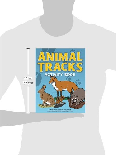 Animal Tracks Activity Book (Color and Learn)
