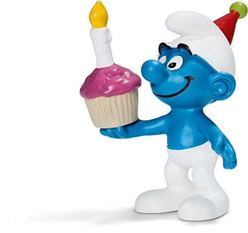 Schleich Birthday Smurf Toy Figure