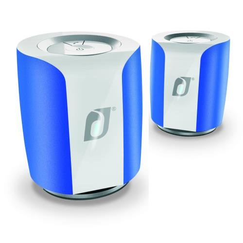 Generic Damson Audio Da-Daidt05-Bl Damson Jet Speakers In Blue