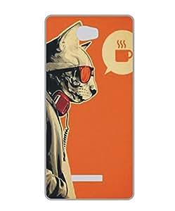 Techno Gadgets Back Cover for Karbonn Aura