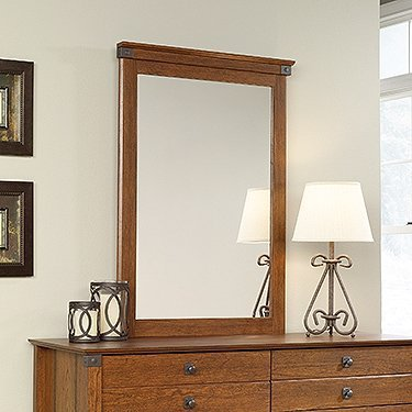 sauder-carson-forge-mirror-in-washington-cherry-by-sauder