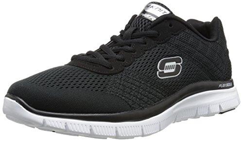 skechers-flex-advantage-covert-action-herren-sneakers-schwarz-bkw-45-eu