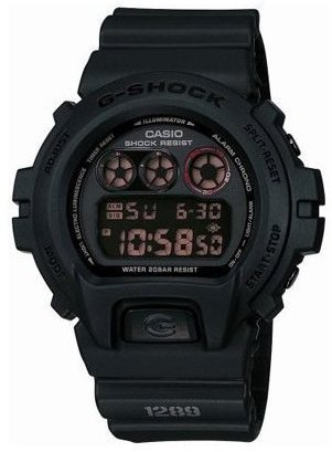 Casio G-Shock MAT BLACK RED EYE Parallel import products DW-6900MS-1DR Japan import