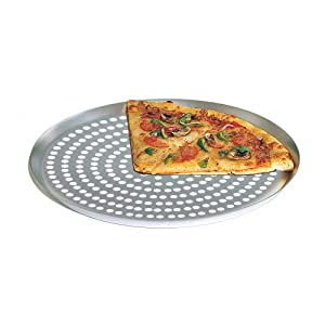"American Metalcraft CAR10SP Super Perforated Nested 10"" Pizza Pan"