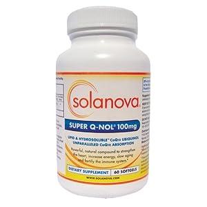 Super QNol® CoQ10 Ubiquinol 100mg, 60 Softgels