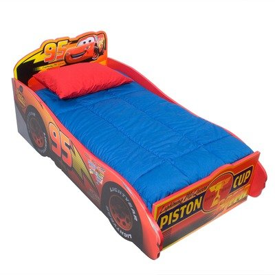 Black Friday Cars Wooden Toddler Bed