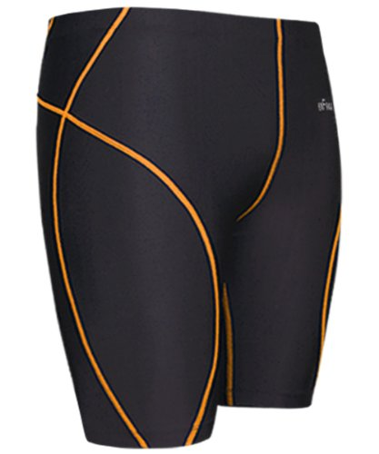 Emfraa Men Women Compression Baselayer Running Tight Skin Shorts Black S ~ XL