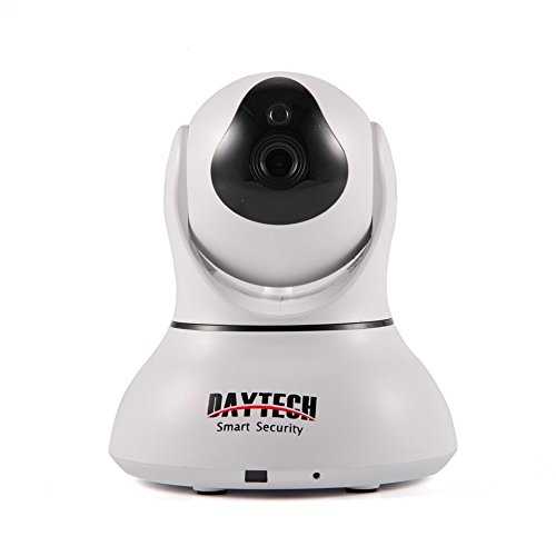 Daytech® Wifi IP Camera Pan Tilt,Wireless Home Security Camera for Baby Monitor, Day/Night Vision,2 Way Audio,Phone Remote Viewing,Motion Detection Alarm,P2P,Plug&Play,HD Network Camera IP DT-C8817-1
