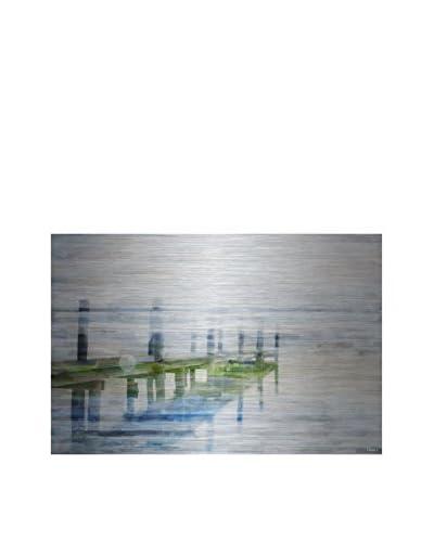 Parvez Taj Dock Mist Aluminum Wall Art