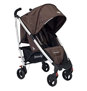 Joovy Kooper Umbrella Stroller, Brownie (Discontinued by Manufacturer)