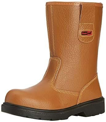 Blackrock Mens Safety Shoes SF01 Tan 5 UK, 38 EU Regular