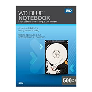 Western Digital Scorpio Blue 500 GB SATA II 8 MB Cache 2.5-Inch Internal Retail Kit Drive - WDBABC5000ANC-NRSN (Discontinued by Manufacturer)