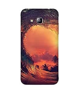 Under The Wave Samsung Galaxy J3 Case