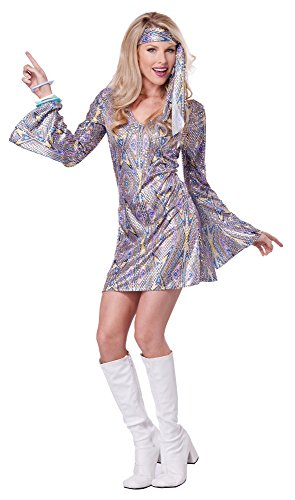 California Costumes Women's Disco Sensation 70's Dance Costume