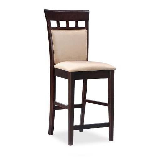 Home Bars For The Casual Drinkers: Coaster Home Furnishings 100219 Casual Bar Stool, 24-Inch