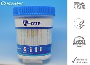 25 Pack of 14-Panel Drug Testing Kit Test For 14 Different Drugs Instantly
