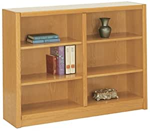 "Concepts in Wood 48"" Wide 6 - Shelf Bookcase"