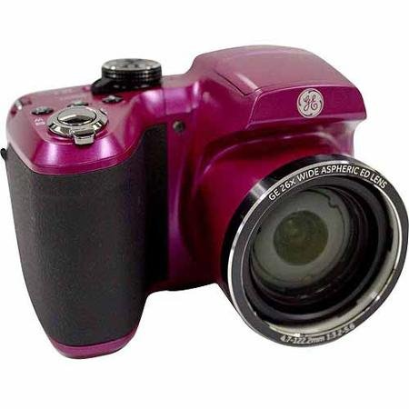 GE Power PRO Series X2600 Compact System Digital Camera with 16.1 Megapixels, 26x Optical Zoom Wide Angle