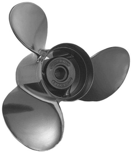 Michigan Wheel 3-Blade Alum Cupped Propeller, 14-1/2 dia x 17 pitch