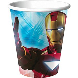 Iron Man 2 9 Oz. Hot/Cold Paper Cup - 8/Pkg. - 1