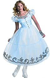 Alice in Wonderland Movie - Alice Deluxe Adult Costume Size 12-14 Large (M36)