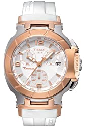 Tissot T-Race White Dial Women's Watch #T048.217.27.017.00
