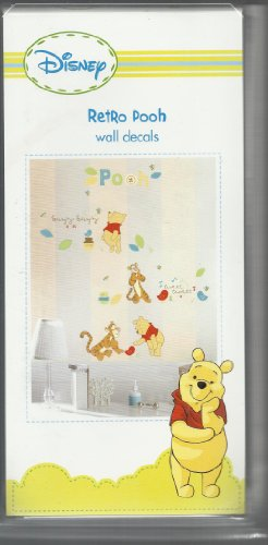 DISNEY RETRO POOH WALL DECALS