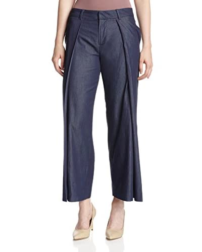 a.c.e. Women's Sadie Pleated Trouser Ankle Length