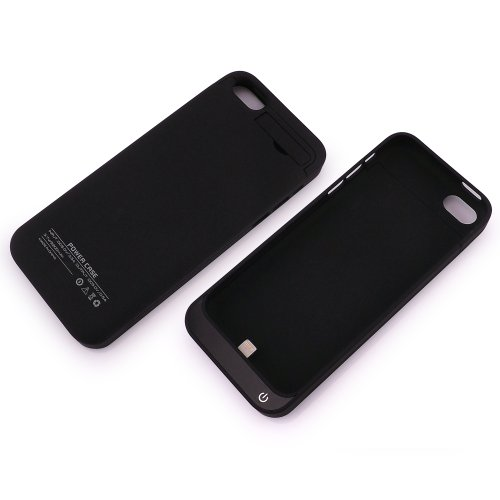 Black 2200mah Backup External Battery charging