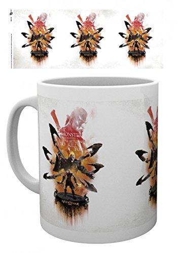 God Of War - Ares Tazza Da Caffè Mug (9 x 8cm)