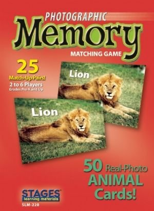 Photographic Memory: Animals - Buy Photographic Memory: Animals - Purchase Photographic Memory: Animals (Stages Learning Materials, Toys & Games,Categories,Games,Card Games,Flash Cards)