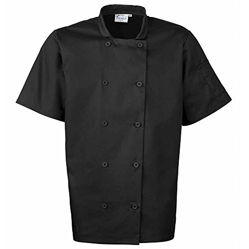 "Premier - Giacca da chef - Unisex - Adulto nero nero M - 39"" Chest"