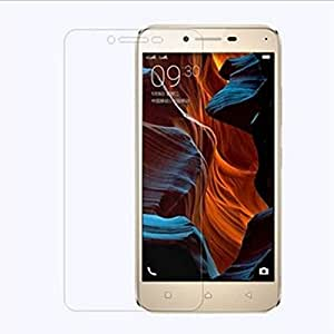 Tocmoc Tempered Glass Screen Guard, 9H Hardness, Ultra Clear, Anti-Scratch, Bubble Free, Anti-Fingerprints & Oil Stains Coating for lenovo Vibe K5