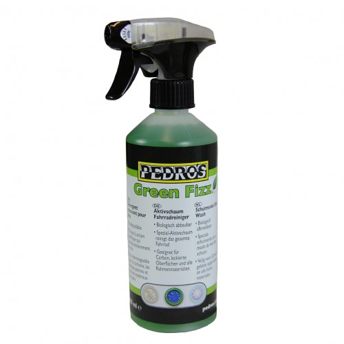 Pedros Green Fizz active foam cleaner