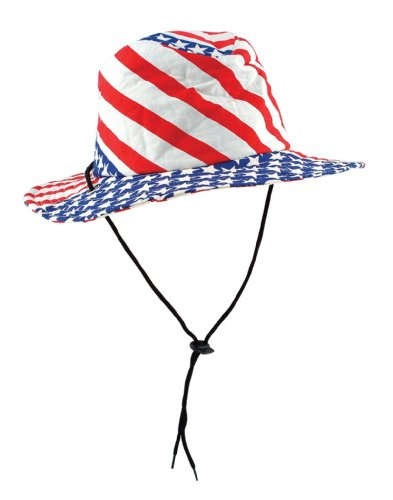 Patriotic Flag Hat (stars & stripes design) Party Accessory  (1 count) - 1