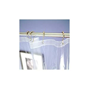 clawfoot tub shower curtain rod ¥ Bath Divine