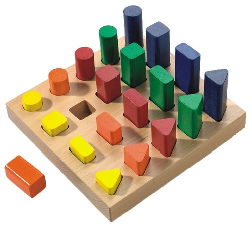 Wooden Shape Sorter - 1
