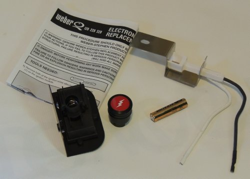 Weber Gas Grill Q120 Q220 Replacement Electronic Igniter Kit
