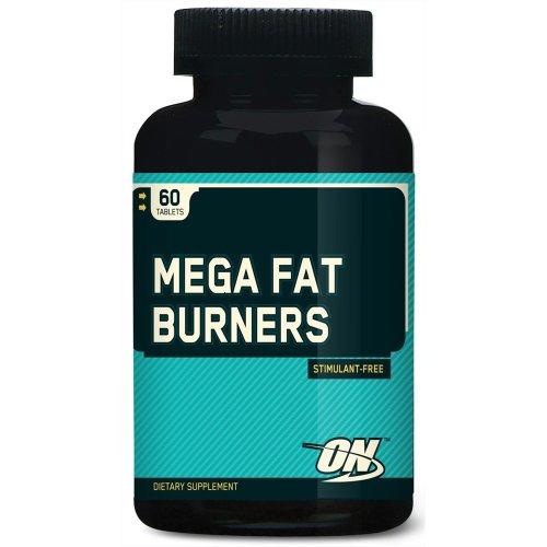 Optimum Nutrition Mega Fat Burners, 60 Tablets