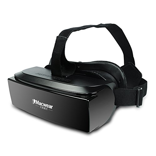 3D VR Glasses,iMacwear V1 80 Inch Personal Private 3D Mobile Theater VR Virtual Reality Glasses For Game Video 4 to 6 Inch Smartphone