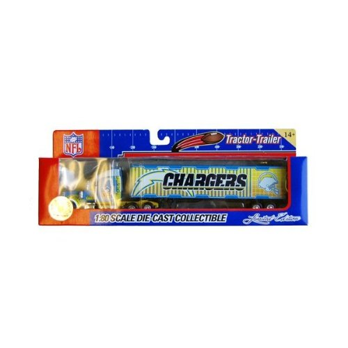 NFL Tractor-Trailer San Diego Chargers Limited Edition - 1