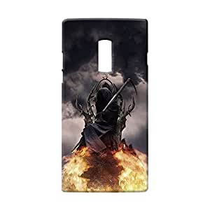 100 Degree Celsius Back Cover for One plus Two (Designer Printed Multicolor)