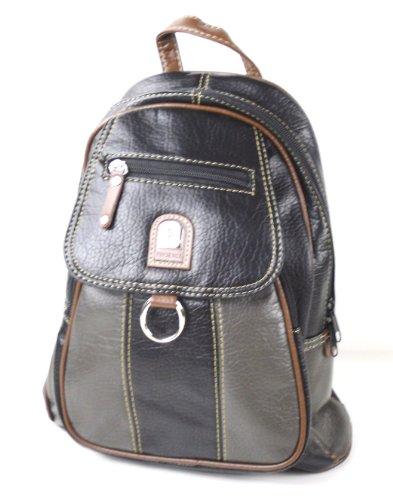 Damen Leder Rucksack/Tasche City Bag mit 2 Varianten tragbar T-1120