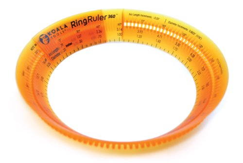 Ring Ruler360 Size Adjustable Circular Ruler and Circle-making Tool (Architect Drawing Tools compare prices)