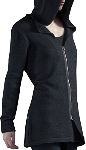 Musterbrand Assassin's Creed Cardigan a maglia Donna Fairfax Wool Zip Hoodie / Gaming Clothes Nero XL