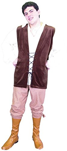 Men's Renaissance Costume (With Boot Covers)(Size: X-Small 34-36)