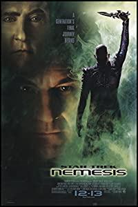 "Star Trek: Nemesis 2002 ORIGINAL MOVIE POSTER Action Adventure Sci-Fi - Dimensions: 27"" x 41"""